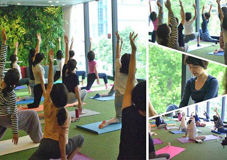 6-7月 アロマの空間で楽しむヨガ Aroma Slow Yoga